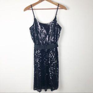 ☀️ Black Sequin Dress